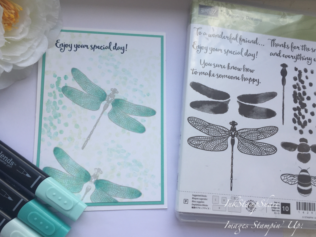 Thank You card, Dragonfly Dreams