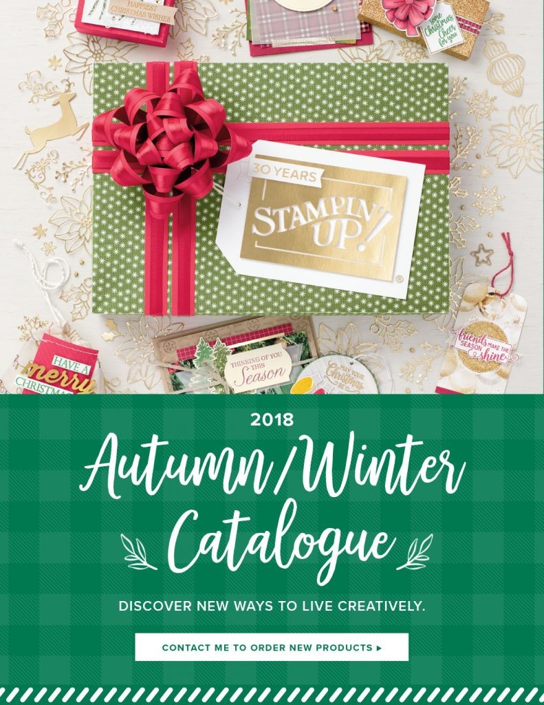 Autumn Winter Stampin Up Catalogue 2018