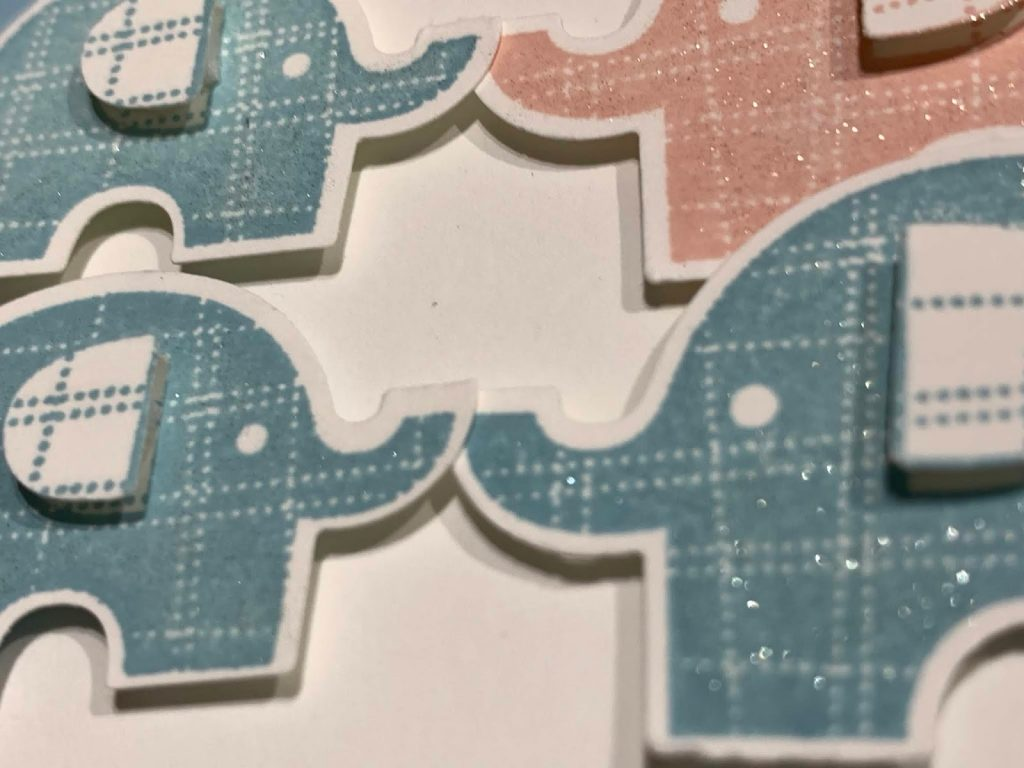Little Elephant card. New Baby Card
