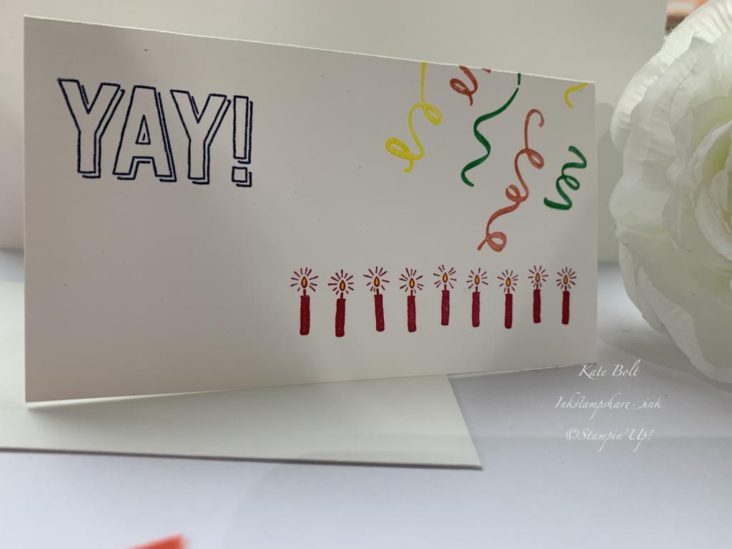 Amazing Life birthday card, Stampin Up