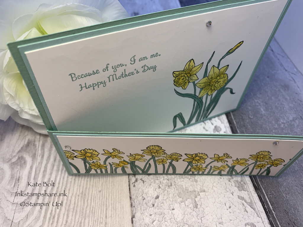 Mothers Day Card with you'Re Inspiring stamp set. You're Inspiring. Stampin Up