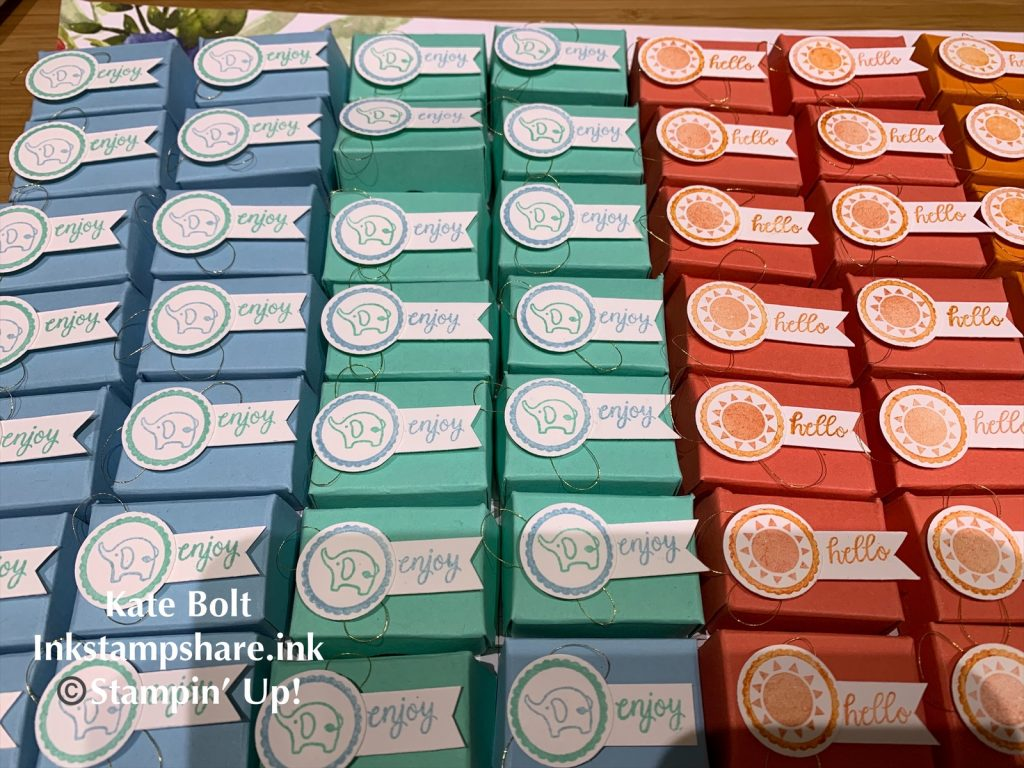 Boxes for mini tic tacs, You Tube Tutorial ,Swaps