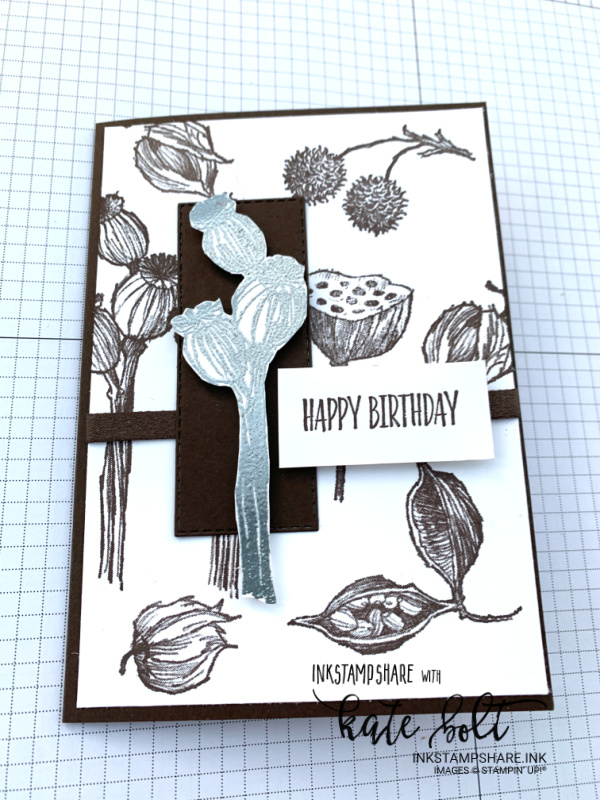 Enjoy The Moment by Stampin Up!. A winter themed birthday card for the first Stamp Around The UK Video Hop of the year. Happy New Year!