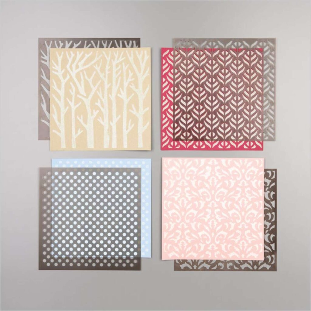 Basic Pattern Decorative Masks by Stampin Up