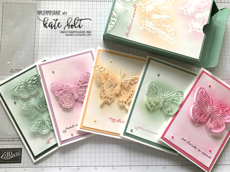 Introducing the new 2021-2023 Stampin Up! In Colours. Evening Evergreen, Fresh Freesia, Pale Papaya, Soft Succulent and  Polished Pink