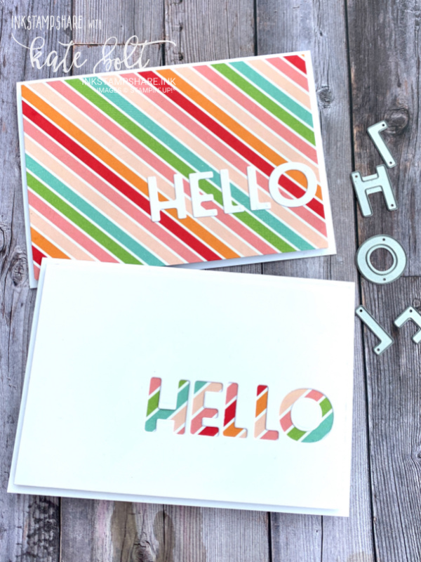 Using the Playful Alphabet Dies for a splash of colour for the Positive Inkers July Blog Hop. Letting the gorgeous Pattern Party DSP shine through the negative aperture.