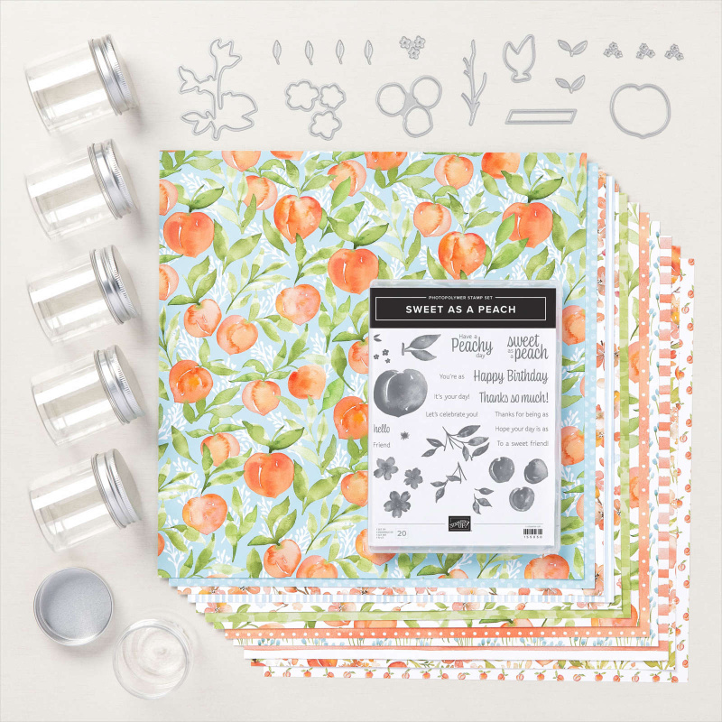 Suite As A Peach Suite of products from Stampin Up