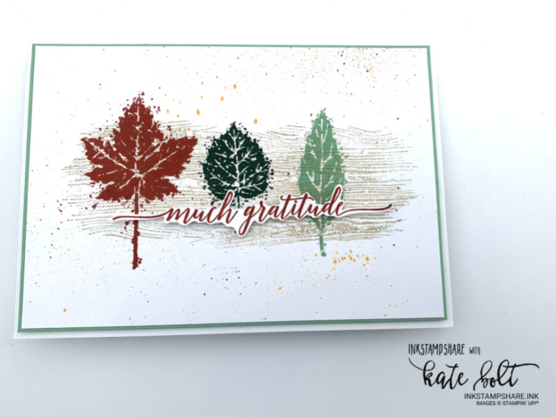 My customer thank you cards using the Gorgeous